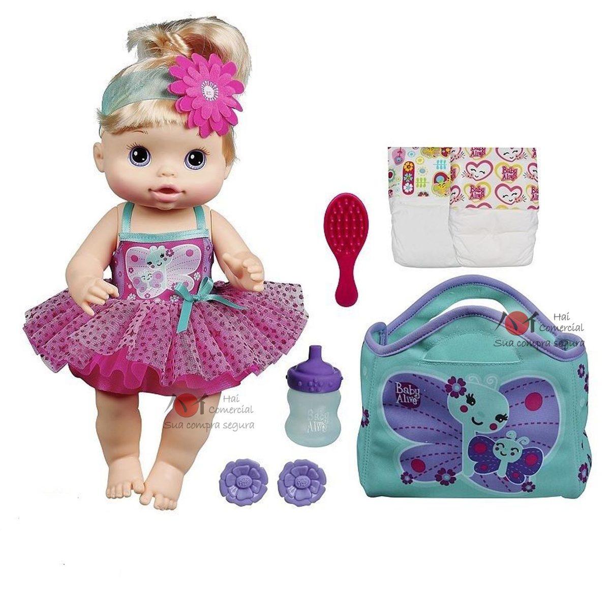 Baby Alive Fada Com Acess 243 Rios A9330 Hasbro Frete