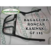 Bagageiro Convencional Kasinski Gf 125 - Preto - Roncar