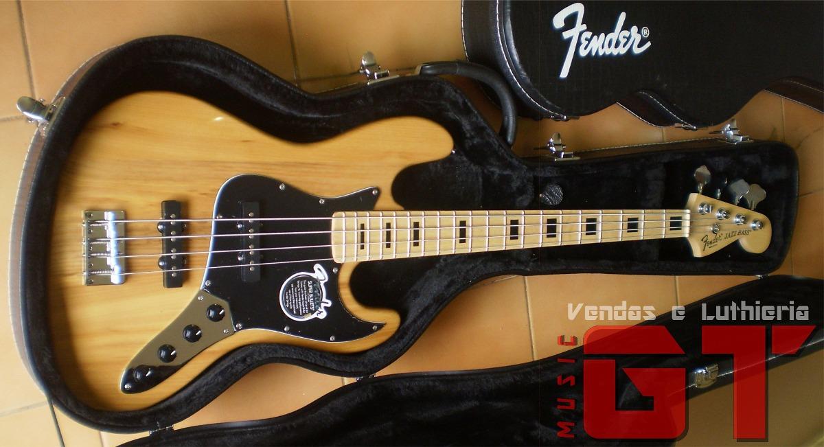 Circuito Ativo Fender Jazz Bass : Baixo fender cordas ativo pronta entrega gt music