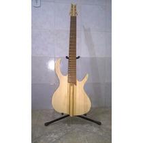 Contrabaixo Inteiriço De 6 Cordas De Luthier Semi-pronto
