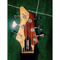 Baixo Deoliveira Mirage Bass 6 Cordas Sonzeira !