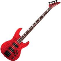 Contra Baixo Jackson Concert Bass Js3qm Vermelho