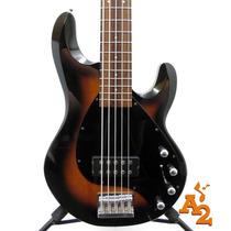 Baixo Pires Luthier Tipo Music Man Stingray 5c Bassline
