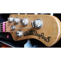 Baixo Music Man Stingray Sting Ray 5 - 1994 N Fender Smith