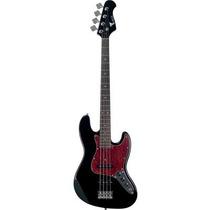 Contrabaixo Eagle Sjb006 Jazz Bass 4 Cordas Preto
