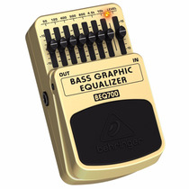 Pedal De Baixo Behringer Equalizador Beq700 Nfe Garantia