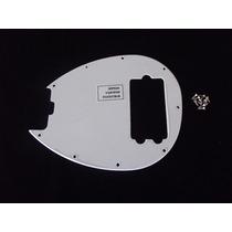 Escudo Music Man Sterling 4 Cordas Branco 1 Camada (1 Ply)