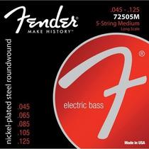 Encordoamento Contra Baixo 5 Cordas Fender 045 Selo Izzo