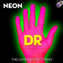 Cordas Dr Neon Rosa 0.40/100 Contrabaixo 4 Cordas