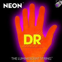 Corda Para Baixo 5 Cordas Dr Neon Laranja O.40/120 - Nob5-40