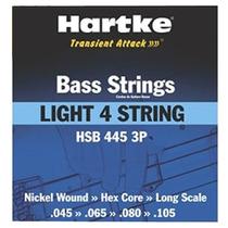 Encordoamento Para Baixo 4 Cordas 045 Hartke 2347