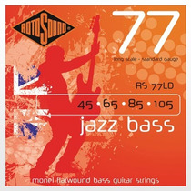 Encordoamento Rotosound Contrabaixo Jazz Bass 4c - 45 A 105