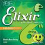 Encordoamento Elixir Contra Baixo 6 Cordas 045 O F E R T A