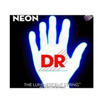Encordoamento Baixo Dr Nwb45 Neon White 045 4 Cordas, 775
