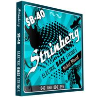 Encordoamento Contra Baixo 4 Cordas 040 Strinberg Sb40