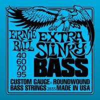 Encordoamento Baixo 4 Cordas 040 Ernie Ball Slinky 2835
