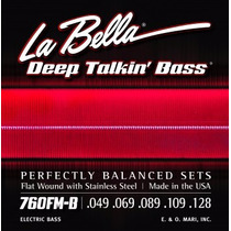 Encord 760fm-b Deep Talkin¿ Bass, Flat Wound, 5-c Medium 049