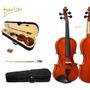 Violino A Mb Deviser 4/4 Completo Arco Breu Estojo Luxo