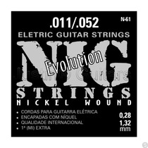 Cordas Nig Para Guitarra - N61 Evolution .011 - .052