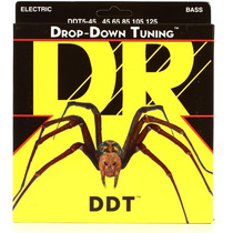 Encordoamento Baixo 5 Cordas 45/125 - Dr Drop Down Tuning