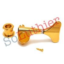 Tarraxas P/ Baixo 5 Cordas 3x2 Blindada - Dourada Ref. 1388
