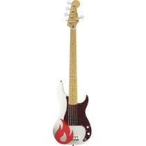 Baixo Squier Vintage Modified Precision Bass V 5 Cordas Owt
