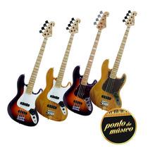 Baixo Sx Jazz Bass Sjb75 Vintage 4 Cordas L O J A