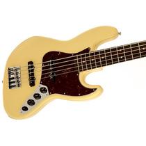 Contrabaixo Dlx Active Jb V Wh Fender 013-6860-341 Liquida