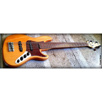 Fender Jazz American Deluxe V 2007 / Estado De Novo / 18v