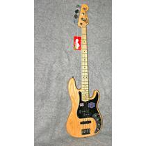 Fender Usa American Deluxe Precision P Bass Ash Guitar 2014