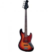 Baixo Eagle Sjb-006 Sb Sunburst Jazz Bass - Refinado