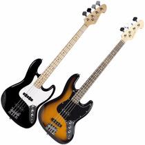 Contrabaixo Michael Bm607 Jazz Bass - 4 Cordas