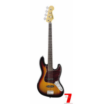 Baixo Squier By Fender Vintage Modified Jazz Bass Sunburst