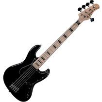 Contrabaixo Jazz Bass Tagima Tjb5 Preto 5 Cordas Passivo