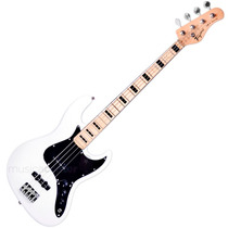 Contrabaixo Jazz Bass Tagima Tjb4 Branco 4 Cordas Passivo