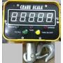 Balança Suspensa Digital Gancho 3000 Kg - C Controle Remoto