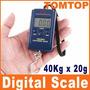 Balança Portátil Digital 10gramas Até 40kg