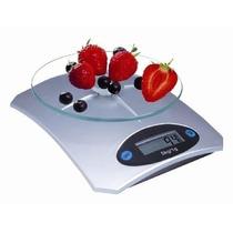 Balança Digital Para Cozinha 5kg Precisão De 1g Ke5 Prata