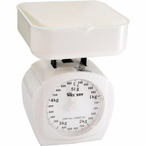 Balança De Cozinha Analógica C/ Bandeja Até 5kg Western
