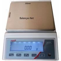 Balança Eletrônica De Precisão 5kg X 0,01g Certific Inmetro