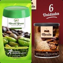 1 Pote Marita Green + 6 Latas Café Marita