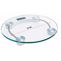 Balança Digital Vidro Temperado Até 180kg Banheiro Academia