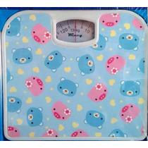 Balança De Banheiro Decorada Analógica Max 130kg Wincy Casa