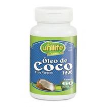 Óleo De Coco 60 Cápsulas De 1.200 Mg.
