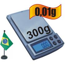 Balança Digital 0,01g Precisão 300 Gramas Digital