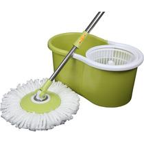Esfregão Mop Spin Limpeza Prática Refil Balde Centrifugador
