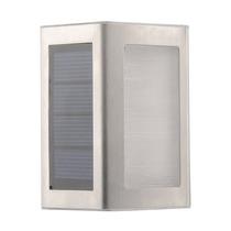 Luminária Solar Para Escada 2 Leds Aço Inox