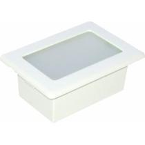 Luminária Embutir Alumínio Injetado 6800 - Branca Germany