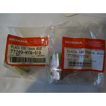 Trava Banco Cg 125 Ml 125 Turuna (par) Original Honda
