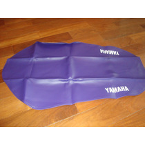 Capa De Banco Yamaha Xte 600 Preto 97/ 98 Roxo